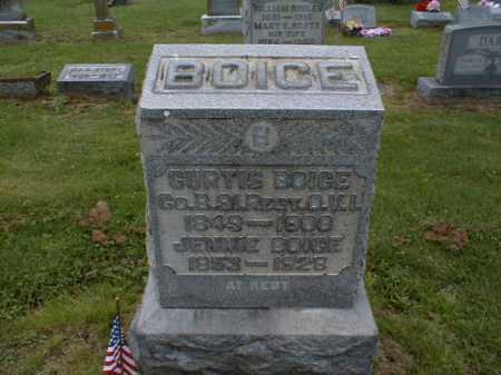 BOICE, CURTIS - Gallia County, Ohio | CURTIS BOICE - Ohio Gravestone Photos