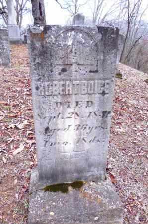 BOICE, ROBERT - Gallia County, Ohio | ROBERT BOICE - Ohio Gravestone Photos