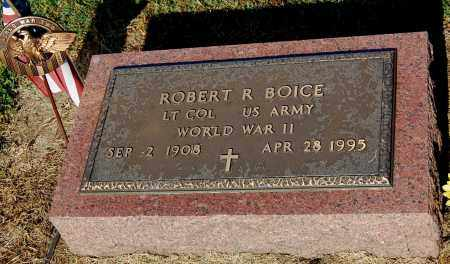 BOICE, ROBERT R - Gallia County, Ohio | ROBERT R BOICE - Ohio Gravestone Photos