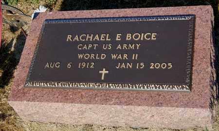 BOICE, RACHAEL E - Gallia County, Ohio | RACHAEL E BOICE - Ohio Gravestone Photos