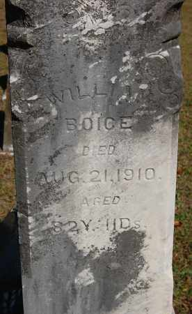 BOICE, WILLIAM - Gallia County, Ohio | WILLIAM BOICE - Ohio Gravestone Photos