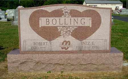 BOLLING, INEZ E - Gallia County, Ohio | INEZ E BOLLING - Ohio Gravestone Photos