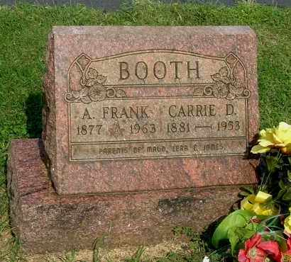 BOOTH, CARRIE ESTELLE - Gallia County, Ohio | CARRIE ESTELLE BOOTH - Ohio Gravestone Photos