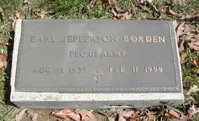 BORDEN, EARL - Gallia County, Ohio | EARL BORDEN - Ohio Gravestone Photos