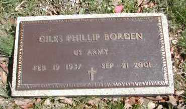 BORDEN, GILE PHILLIP - Gallia County, Ohio | GILE PHILLIP BORDEN - Ohio Gravestone Photos