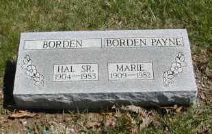 BORDEN PAYNE, MARIE - Gallia County, Ohio | MARIE BORDEN PAYNE - Ohio Gravestone Photos