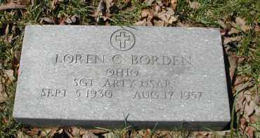 BORDER, LOREN C. - Gallia County, Ohio | LOREN C. BORDER - Ohio Gravestone Photos