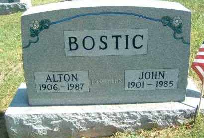 BOSTIC, ALTON - Gallia County, Ohio | ALTON BOSTIC - Ohio Gravestone Photos