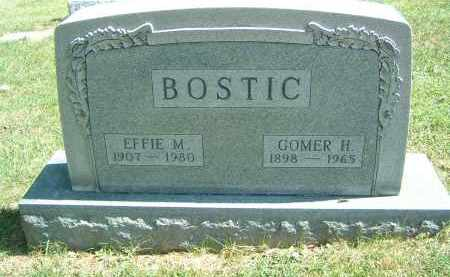BOSTIC, EFFIE M. - Gallia County, Ohio | EFFIE M. BOSTIC - Ohio Gravestone Photos