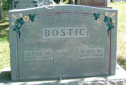 BOSTIC, ETTA M. - Gallia County, Ohio | ETTA M. BOSTIC - Ohio Gravestone Photos