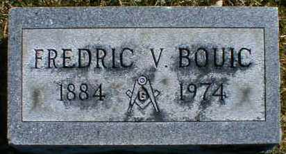 BOUIC, FREDRIC - Gallia County, Ohio | FREDRIC BOUIC - Ohio Gravestone Photos