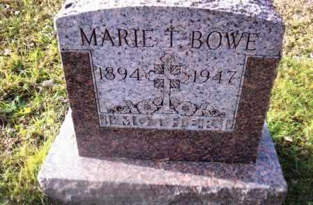BOWE, MARIE T. - Gallia County, Ohio | MARIE T. BOWE - Ohio Gravestone Photos