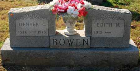 BOWEN, DENVER C. - Gallia County, Ohio | DENVER C. BOWEN - Ohio Gravestone Photos