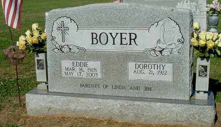 BOYER, CLARENCE EDWARD - Gallia County, Ohio | CLARENCE EDWARD BOYER - Ohio Gravestone Photos