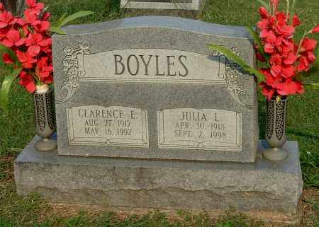 BOYLES, JULIA L - Gallia County, Ohio | JULIA L BOYLES - Ohio Gravestone Photos