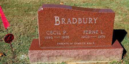BRADBURY, CECIL P. - Gallia County, Ohio | CECIL P. BRADBURY - Ohio Gravestone Photos
