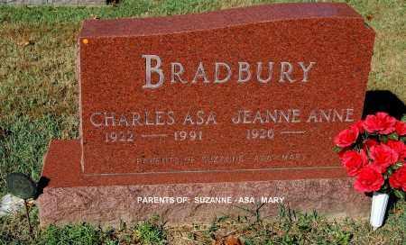 BRADBURY, CHARLES ASA - Gallia County, Ohio | CHARLES ASA BRADBURY - Ohio Gravestone Photos