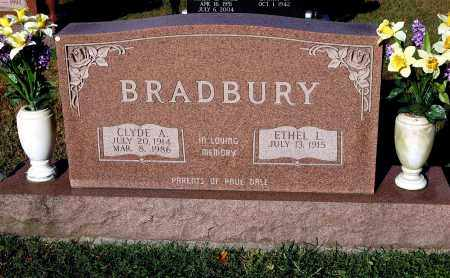 BRADBURY, CLYDE A. - Gallia County, Ohio | CLYDE A. BRADBURY - Ohio Gravestone Photos