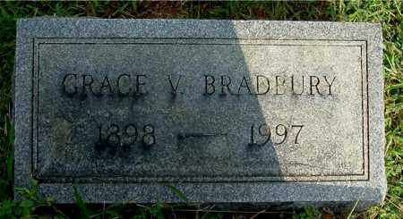 BRADBURY, GRACE V - Gallia County, Ohio | GRACE V BRADBURY - Ohio Gravestone Photos