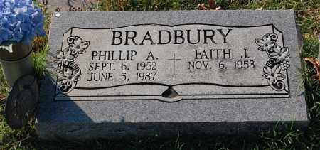 BRADBURY, PHILLIP A. - Gallia County, Ohio | PHILLIP A. BRADBURY - Ohio Gravestone Photos