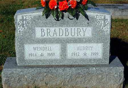 BRADBURY, AUDREY - Gallia County, Ohio | AUDREY BRADBURY - Ohio Gravestone Photos