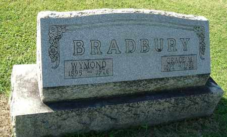 BRADBURY, WYMOND - Gallia County, Ohio | WYMOND BRADBURY - Ohio Gravestone Photos