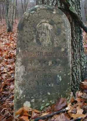 BRADLEY, ANN - Gallia County, Ohio | ANN BRADLEY - Ohio Gravestone Photos