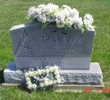 ADAMS BRAMMER, NOLA - Gallia County, Ohio | NOLA ADAMS BRAMMER - Ohio Gravestone Photos