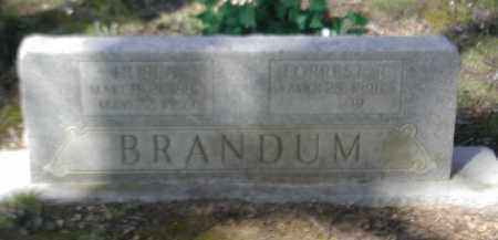 BRANDUM, FORREST R. - Gallia County, Ohio | FORREST R. BRANDUM - Ohio Gravestone Photos