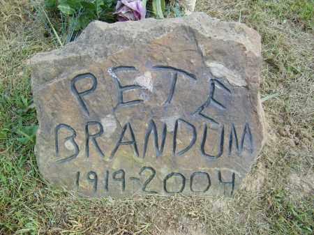 BRANDUM, PETE - Gallia County, Ohio | PETE BRANDUM - Ohio Gravestone Photos