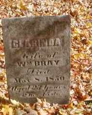 BRAY, CLARINDA - Gallia County, Ohio | CLARINDA BRAY - Ohio Gravestone Photos