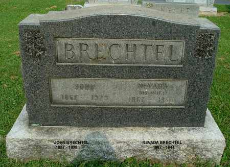BRECHTEL, JOHN - Gallia County, Ohio | JOHN BRECHTEL - Ohio Gravestone Photos