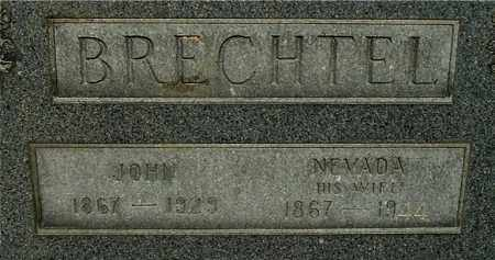 "BRECHTEL, JOHN ""CLOSE-UP"" - Gallia County, Ohio 