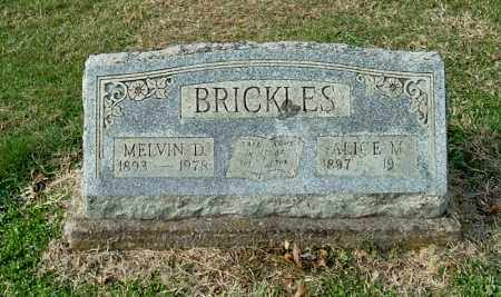 BRICKLES, MELVIN D - Gallia County, Ohio | MELVIN D BRICKLES - Ohio Gravestone Photos