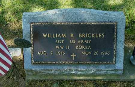 BRICKLES, WILLIAM R - Gallia County, Ohio | WILLIAM R BRICKLES - Ohio Gravestone Photos