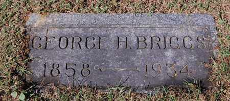 BRIGGS, GEORGE H - Gallia County, Ohio | GEORGE H BRIGGS - Ohio Gravestone Photos