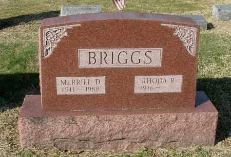 BRIGGS, MERRILL D - Gallia County, Ohio | MERRILL D BRIGGS - Ohio Gravestone Photos