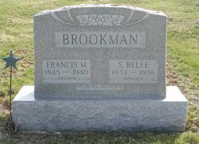 BROOKMAN, S. BELLE - Gallia County, Ohio | S. BELLE BROOKMAN - Ohio Gravestone Photos