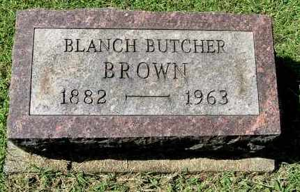 BUTCHER BROWN, BLANCH - Gallia County, Ohio | BLANCH BUTCHER BROWN - Ohio Gravestone Photos
