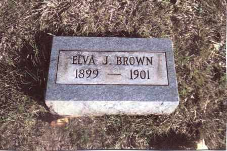 BROWN, ELVA J. - Gallia County, Ohio | ELVA J. BROWN - Ohio Gravestone Photos