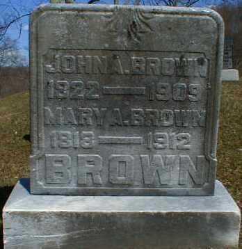 BROWN, MARY - Gallia County, Ohio | MARY BROWN - Ohio Gravestone Photos