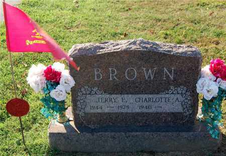 BROWN, CHARLOTTE A. - Gallia County, Ohio | CHARLOTTE A. BROWN - Ohio Gravestone Photos