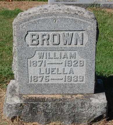 BROWN, LUELLA - Gallia County, Ohio | LUELLA BROWN - Ohio Gravestone Photos