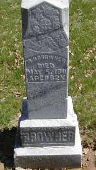 BROWNER, W. H. - Gallia County, Ohio | W. H. BROWNER - Ohio Gravestone Photos