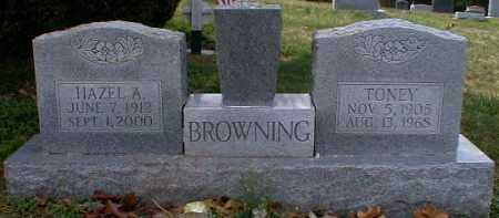 BROWNING, HAZEL - Gallia County, Ohio | HAZEL BROWNING - Ohio Gravestone Photos