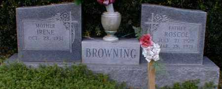 BROWNING, ROSCOE - Gallia County, Ohio | ROSCOE BROWNING - Ohio Gravestone Photos