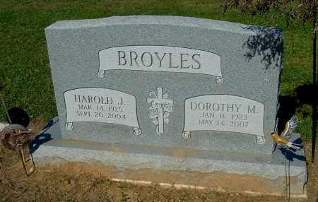 BROYLES, DOROTHY M - Gallia County, Ohio | DOROTHY M BROYLES - Ohio Gravestone Photos