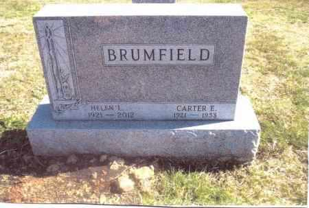BRUMFIELD, CARTER E. - Gallia County, Ohio | CARTER E. BRUMFIELD - Ohio Gravestone Photos