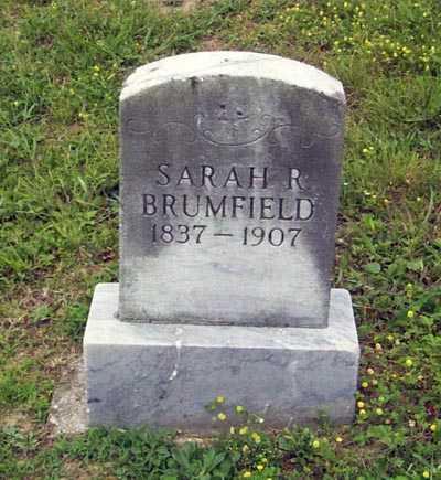BRUMFIELD, SARAH RUHAMEY - Gallia County, Ohio | SARAH RUHAMEY BRUMFIELD - Ohio Gravestone Photos