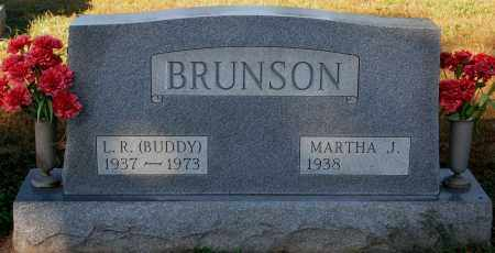 BRUNSON, MARTHA J. - Gallia County, Ohio | MARTHA J. BRUNSON - Ohio Gravestone Photos